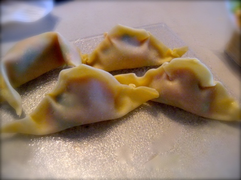 Crimped Dumplings